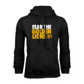 Black Fleece Hoodie-Fear The Golden Lions