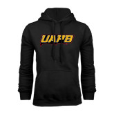 Black Fleece Hoodie-UAPB Word Mark