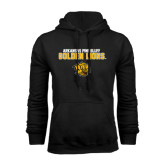 Black Fleece Hoodie-Arkansas Pine Bluff Golden Lions