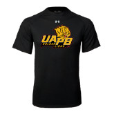 Under Armour Black Tech Tee-UAPB Lion Head Stacked