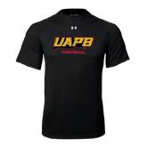 Under Armour Black Tech Tee-Football