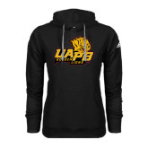 Adidas Climawarm Black Team Issue Hoodie-UAPB Lion Head Stacked