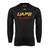Under Armour Black Long Sleeve Tech Tee-Volleyball