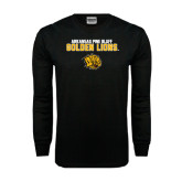 Black Long Sleeve TShirt-Arkansas Pine Bluff Golden Lions