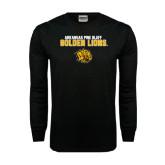 Black Long Sleeve TShirt-Arkansas Pine Bluff Golden Lions
