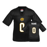 Youth Replica Black Football Jersey-Personalized