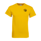 Gold T Shirt-Golden Lion Head