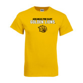 Gold T Shirt-Arkansas Pine Bluff Golden Lions