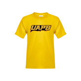 Youth Gold T Shirt-UAPB Word Mark