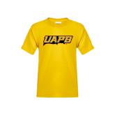 Youth Gold T Shirt-UAPB Word Mark