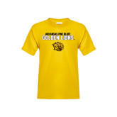 Youth Gold T Shirt-Arkansas Pine Bluff Golden Lions