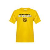 Youth Gold T Shirt-Arkansas Pine Bluff Golden Lions