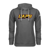 Adidas Climawarm Charcoal Team Issue Hoodie-UAPB Word Mark
