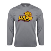 Syntrel Performance Steel Longsleeve Shirt-UAPB Lion Head Stacked