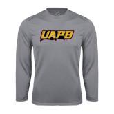 Performance Steel Longsleeve Shirt-UAPB Word Mark