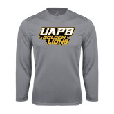Syntrel Performance Steel Longsleeve Shirt-UAPB Golden Lions Stacked