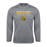 Syntrel Performance Steel Longsleeve Shirt-University of Arkansas Pine Bluff Golden Lions