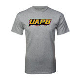 Grey T Shirt-UAPB Word Mark