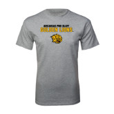 Grey T Shirt-Arkansas Pine Bluff Golden Lions