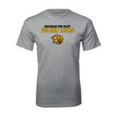 Grey T Shirt-Arkansas Pine Bluff Golden Lions