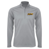 Syntrel Platinum Interlock 1/4 Zip-UAPB Word Mark