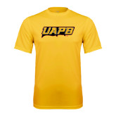 Syntrel Performance Gold Tee-UAPB Word Mark