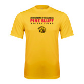 Syntrel Performance Gold Tee-University of Arkansas Pine Bluff Golden Lions