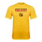 Performance Gold Tee-University of Arkansas Pine Bluff Golden Lions