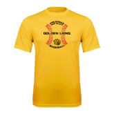 Syntrel Performance Gold Tee-Baseball Circle w/ Seams