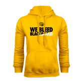 Gold Fleece Hoodie-We Bleed Black & Gold