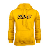 Gold Fleece Hoodie-UAPB Word Mark