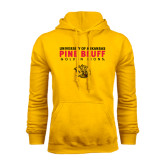 Gold Fleece Hoodie-University of Arkansas Pine Bluff Golden Lions