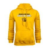 Gold Fleece Hoodie-Arkansas Pine Bluff Golden Lions