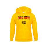 Youth Gold Fleece Hoodie-University of Arkansas Pine Bluff Golden Lions