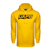 Under Armour Gold Performance Sweats Team Hoodie-UAPB Word Mark