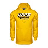 Under Armour Gold Performance Sweats Team Hoodie-UAPB Golden Lions Stacked