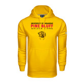 Under Armour Gold Performance Sweats Team Hoodie-University of Arkansas Pine Bluff Golden Lions