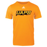 Adidas Gold Logo T Shirt-UAPB Word Mark