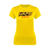 Ladies Syntrel Performance Gold Tee-Baseball