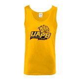 Gold Tank Top-UAPB Lion Head Stacked