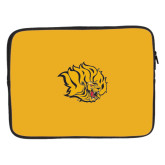 15 inch Neoprene Laptop Sleeve-Golden Lion Head