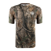 Realtree Camo T Shirt-Golden Lion Head