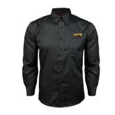 Red House Black Long Sleeve Shirt-UAPB Word Mark