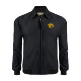 Black Players Jacket-Golden Lion Head