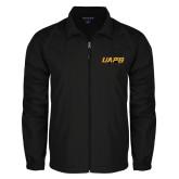 Full Zip Black Wind Jacket-UAPB Word Mark