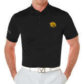 Callaway Opti Vent Black Polo-Golden Lion Head