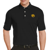 Callaway Tonal Black Polo-Golden Lion Head