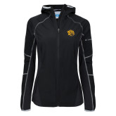 Columbia Ladies Sweet As Black Hooded Jacket-Golden Lion Head