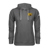 Adidas Climawarm Charcoal Team Issue Hoodie-Golden Lion Head