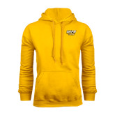 Gold Fleece Hoodie-UAPB Golden Lions Stacked